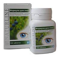 Формула для глаз фито-витаминный комплекс №100 Naturline