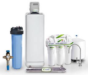 Решение для жесткой воды в коттедже