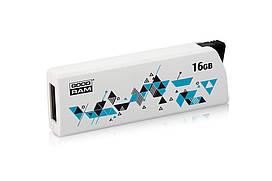 USB 16GB GOODRAM UCL2 (Cl!ck) White (UCL2-0160W0R11)