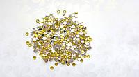 Стразы Желтые 5 мм 100 шт/уп