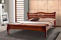 Кровать двуспальная деревянная Динара 1.6м