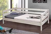 Кровать односпальная деревянная Sky-3 белая (Скай 3 белая) 800*1900
