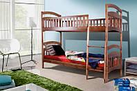 """Кровать """"Кира"""" двухъярусная деревянная (Микс Мебель), фото 1"""