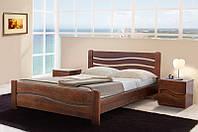 """Кровать двухспальная, деревянная """"Вивия"""" 1.6м. Микс Мебель"""