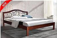 """Кровать двуспальная деревянная """"Илонна"""" 1.6м. (Микс Мебель), фото 1"""