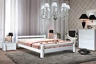 """Кровать двуспальная деревянная """"Монреаль"""" Ясень белый 1.6м, фото 1"""