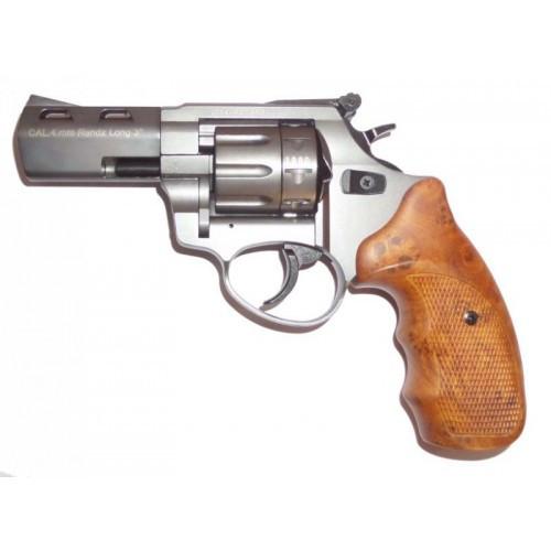 Револьвер под патрон Флобера STREAMER R2 3 TITAN с коричневой руч.