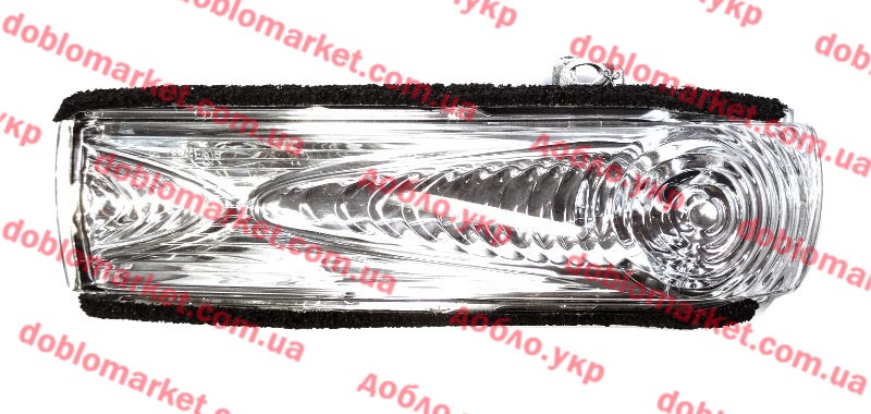Накладка сигнала зеркала заднего вида левая (Повторитель поворота) Doblo 2009- (OPAR), Арт. 71765449, 71765449, FIAT