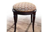 Банкетка деревянная круглая (махонь) Микс Мебель