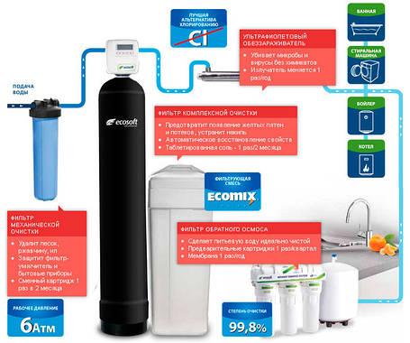 Решение для воды с повышенным содержанием железа для коттеджа, фото 2