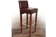 """Деревянный барный стул """"Сиэтл"""" (кожзам) Микс Мебель"""