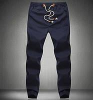 Мужские спортивные летние  штаны  синий