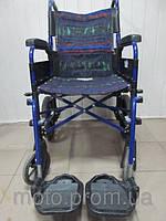 Инвалидное кресло - коляска шириной 43 см. б.у. из Англии с сидением