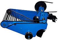 Транспортерная картофелекопалка полтавская (для мототракторов и мотоблоков водяного охлаждения) КК10