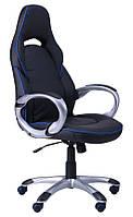 Кресло Страйк (CX 0496H Y10) Черный/кант Синий