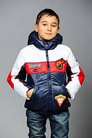 Детская куртка «Формула-1» со съемным капюшоном