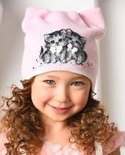 Детские шапки для девочки оптом