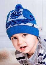 Детские шапки для мальчика оптом