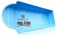 Бассейн  POOL4YOU Roma ІІ (стоимость чаши указана для базовой комплектации бассейна)