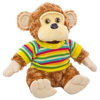 """Мягкая игрушка """"Мавпа у свiтрi 1/4"""" 28 см Копиця"""
