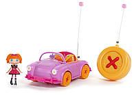 Mini Lalaloopsy Эксклюзивный набор Лалалупси с машинкой на р/у розовая  RC Car 27 Mhz with Exclusive Character
