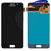 Дисплей + touchscreen (сенсор) для Samsung Galaxy A3 (2016) A310, черный, оригинал