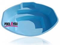 Чаша для бассейна  POOL4YOU Ozzy (стоимость чаши указана для базовой комплектации бассейна)