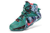 Мужские баскетбольные кроссовки Nike Lebron 12 (Christmas), фото 1