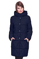 Пальто темно синего цвета
