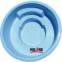 Чаша для бассейна из стекловолокна  POOL4YOU Hebe (стоимость чаши указана для базовой комплектации бассейна)