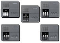 Установка переговорных устройств Commax на 5 абонентов