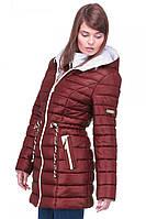 Зимняя курточка с капюшоном