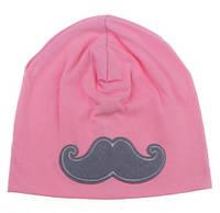 Демисезонная шапочка для девочки.