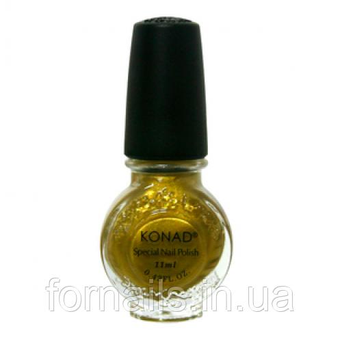 Лак для стемпинга Konad Gold (10ml)