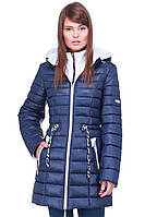 Женская комбинированная курточка