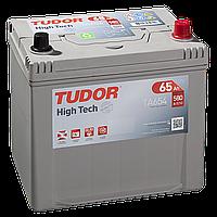 Автомобильный аккумулятор Tudor Asia High Tech TA654, 65Ah/580A, R+, пусковой, свинцово-кислотный