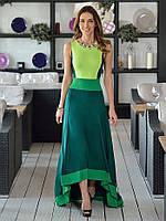 Оригинальное трикотажное платье  от  Lusien Q160