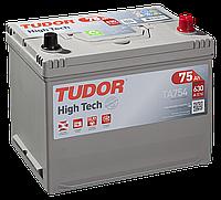 Автомобильный аккумулятор Tudor Asia High Tech TA754, 75Ah/630A, R+, пусковой, свинцово-кислотный