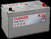 Автомобильный аккумулятор Tudor Asia High Tech TA954, 95Ah/800A, R+, пусковой, свинцово-кислотный