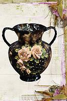 Керамическая ваза Валентинка