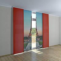 Японские шторы Париж
