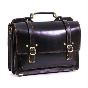 4ef587da71cf Эта модель черного мужского портфеля выполнена на две стороны, что  удваивает ее функциональность. В основе портфеля утолщенная натуральная кожа,  ...