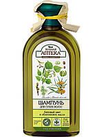 """Шампунь для сухих волос Липовый цвет и облепиховое масло ТМ""""Зеленая аптека"""", 350мл"""