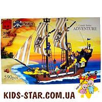"""Конструктор """"Пиратский корабль"""" Brick (307)"""