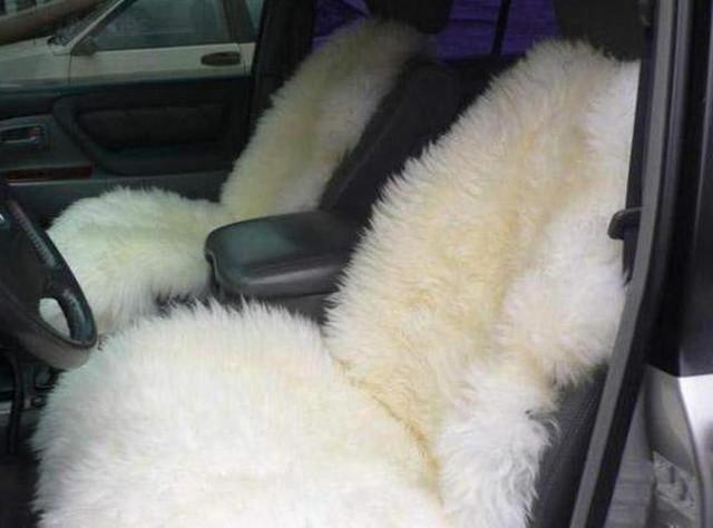 Автомобильные чехлы из овчины