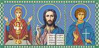 Схема для вышивания бисером Триптих. Молитва от недуга пьянства КМТ 4007