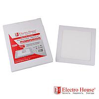 ElectroHouse Панель светодиодная квадратная 18W