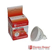 ElectroHouse Лампа для точечных светильников GU10 5W