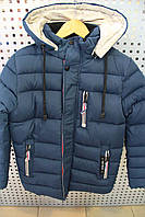 Куртка мальчик зима KIKO ZZ4236/Б Синий
