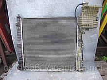 Радиатор охлаждения Behr 6385012201 б/у на Mercedes-Benz Vito 2.3d, 2.3TD, 2.0 год 1996-2003 (2 датчика)